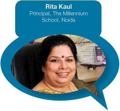 Rita Kaul Principal, The Millennium School, Noida