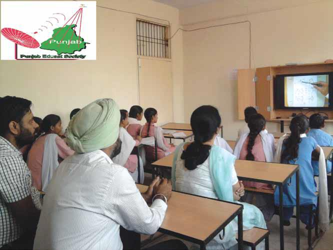 Edusat Ensures Quality Education in Punjab Government Schools