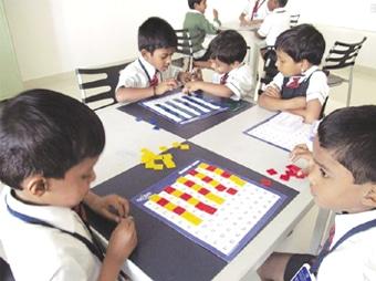 Math Lab at Kovai Public School