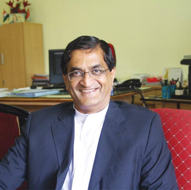 Fr (Dr) Stephen Mavely, Vice Chancellor, Assam Don Bosco University