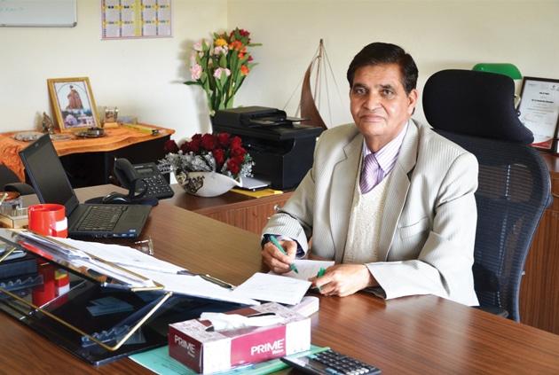 Prof (Dr) S K Kaushal, Vice Chancellor, Arni University