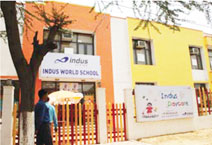 Indus World School GGN