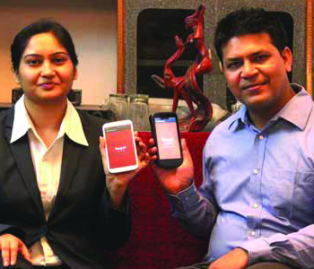 Co-Founders of White Sepal Services Ankur Sharma and Pooja Sharma