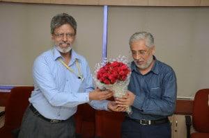 AICTE Chairman -Prof Anil D. Sahasrabudhe-Joining