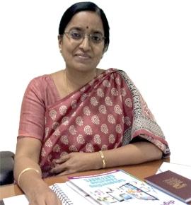 Sandhya Rani, State Project Director, Andhra Pradesh