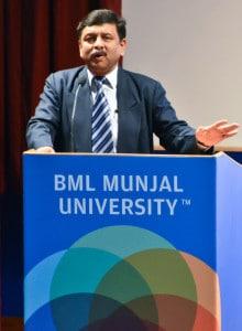 Dr B.S. Satyanarayan, Pro-Vice Chancellor, BML Munjal University