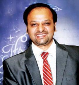 Dharmesh Kapasi President, Shanti Juniors