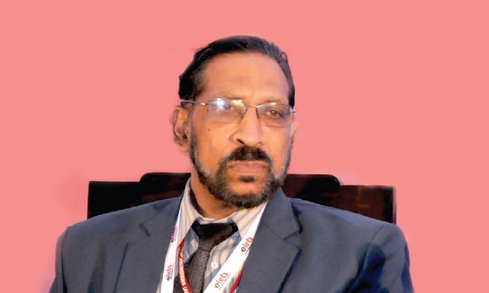 Dr Dinesh Anvekar, Principal, Alpha College of Engineering