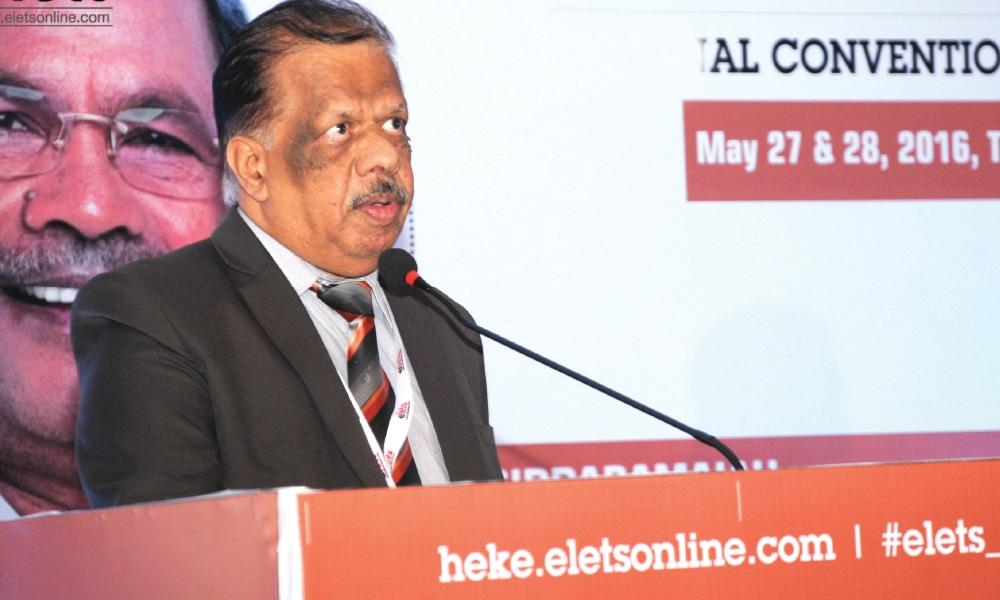 Prof S Ramachandran, Vice Chancellor, Hindustan University, Chennai