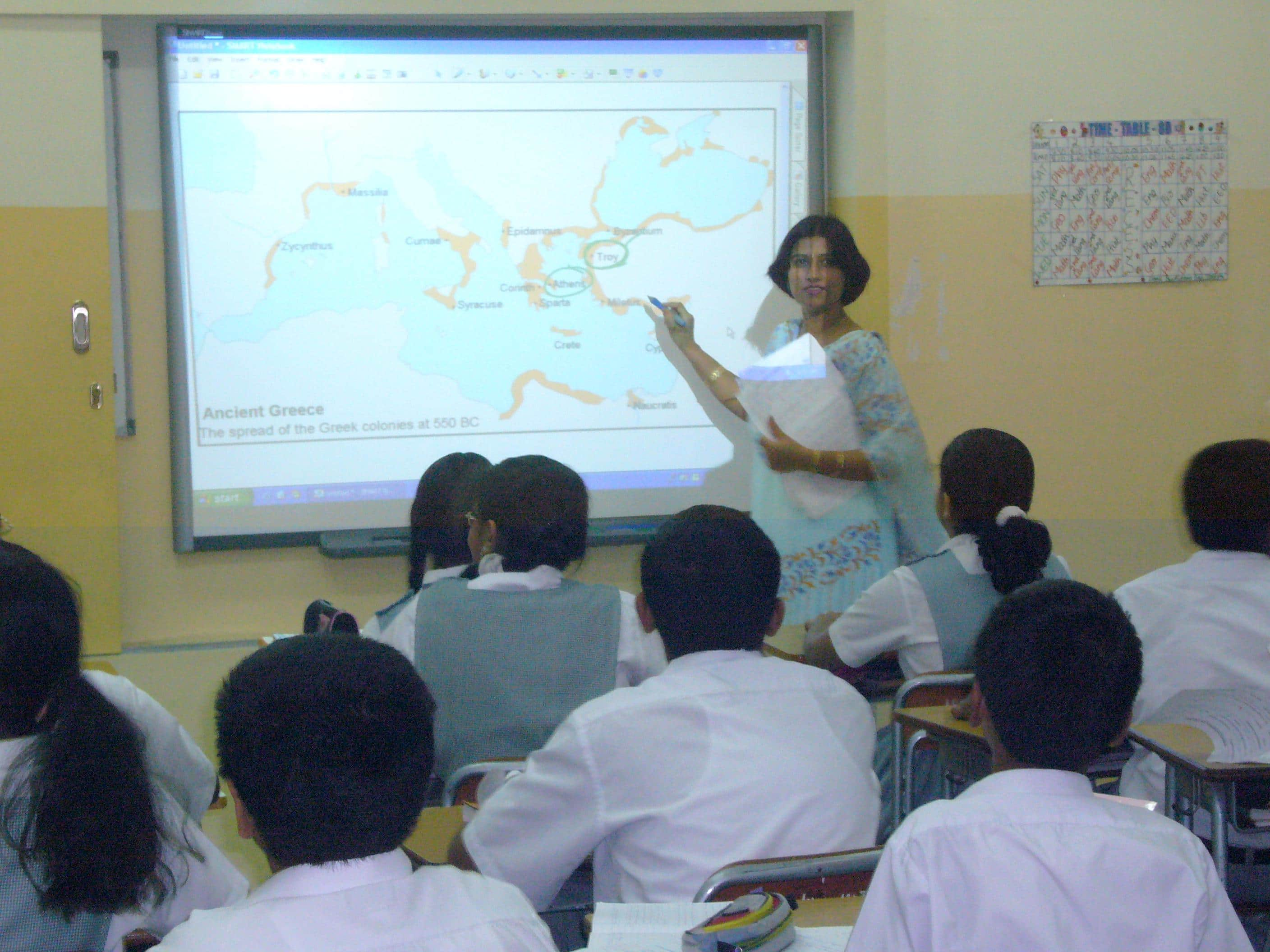 Modern Classroom Teaching Learning Resources ~ Schools to get smart classrooms in delhi