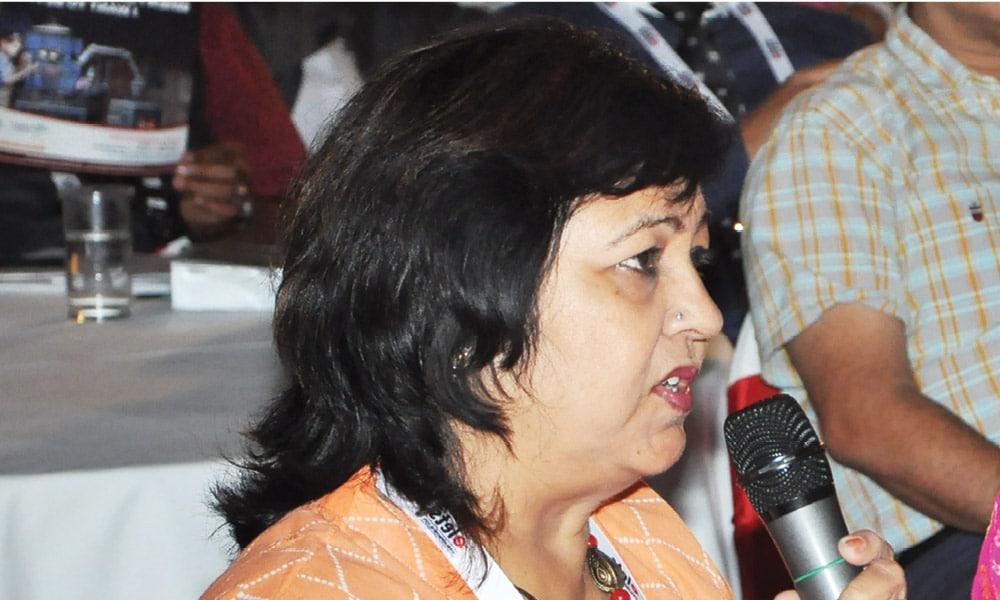 GITA SHARMA, Principal, Shanti Asiatic School, Vastral, Ahmedabad