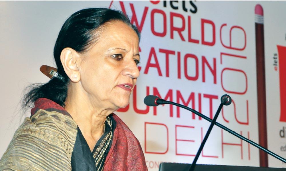 DR INDU KHETARPAL, Principal, Salwan Public School, New Delhi