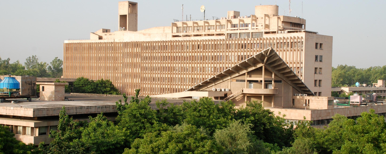Campus photos of iit delhi