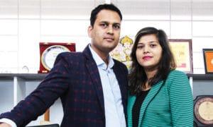Pritam Agrawal and Sunita Jain,Founder Directors, Hello Kids