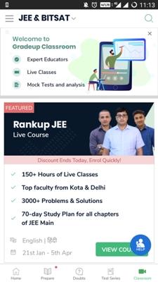 Rankup JEE app