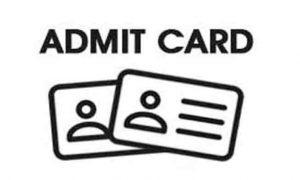 KEAM 2019 admit card