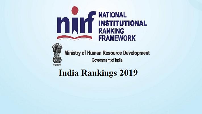NIRF Ranking 2019