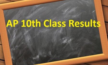 AP SSC Class 10 Result 2019