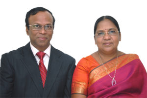 Dr S Cletus Babu, Founder Chairman, SCAD Group of Institutions, and Dr Amali Cletus, Vice Chairperson, SCAD Group of Institutions