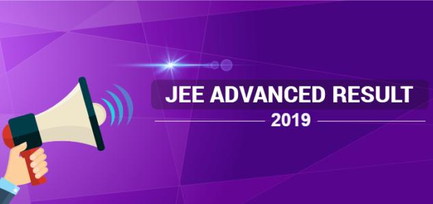 JEE Advanced Result 2019