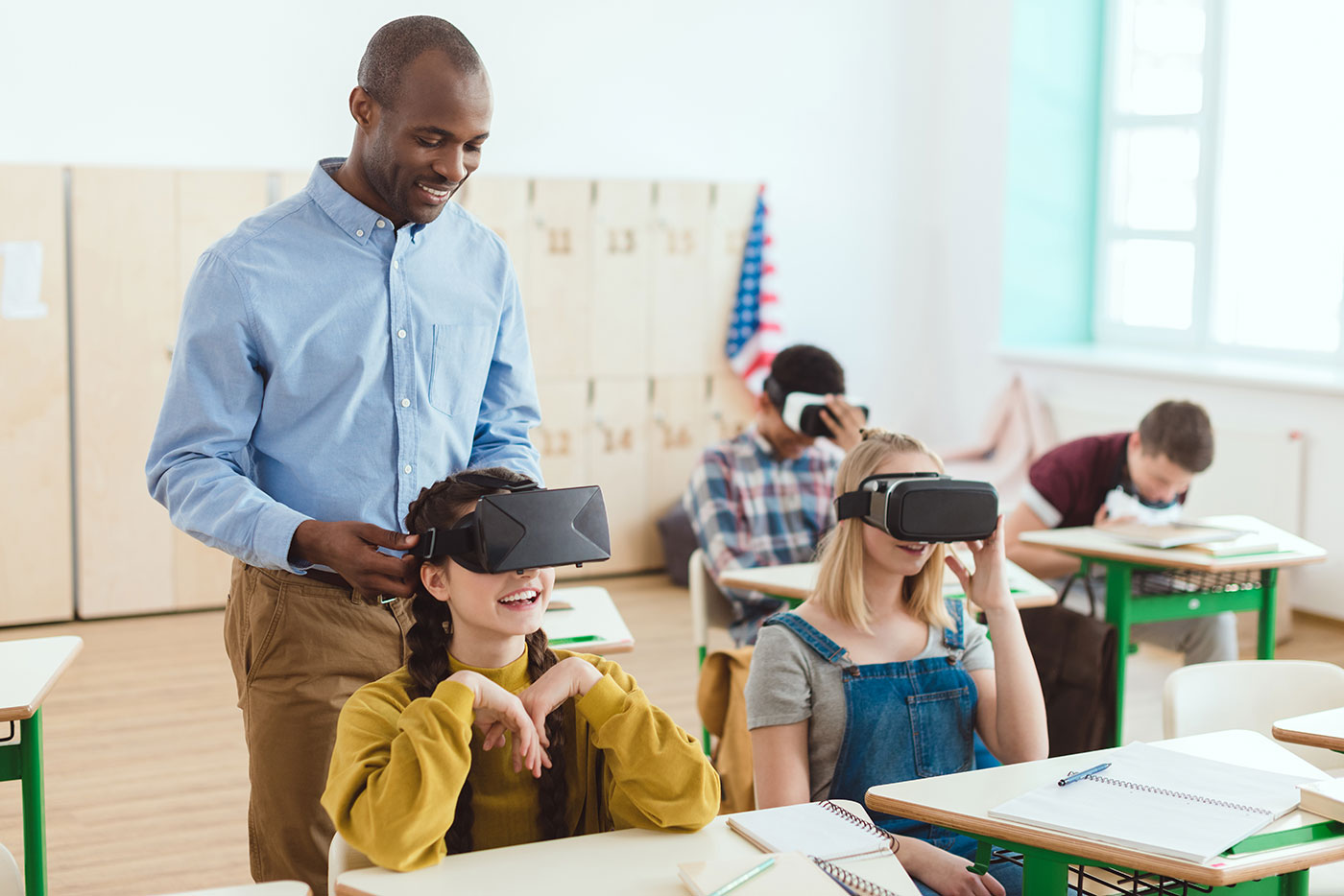 Virtual Reality in a Classroom