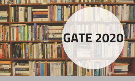 GATE 2020 Date sheet