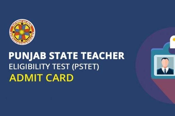 PSTET Admit Card