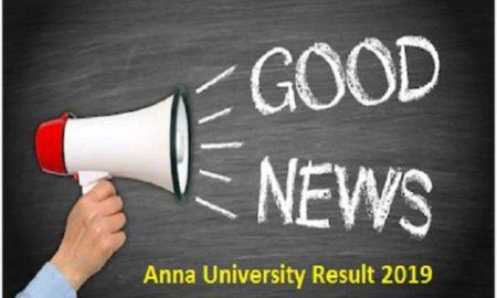 Anna University Result 2019