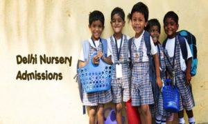 Delhi Nursery Admission 2020-21