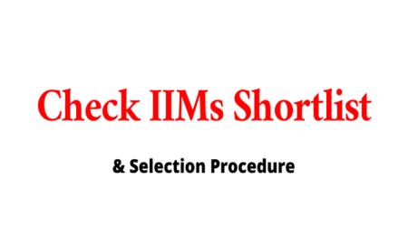 IIM Shortlist