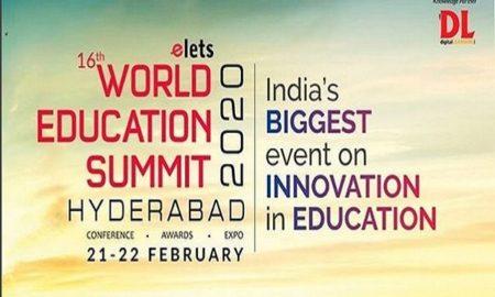 16th World Education Summit in Hyderabad
