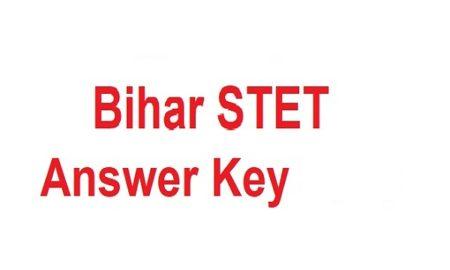 Bihar-stet-Answer-key 2019-2020