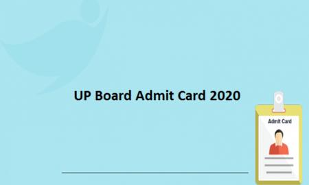 UP Board Admit Card 2020