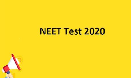 NEET Test 2020