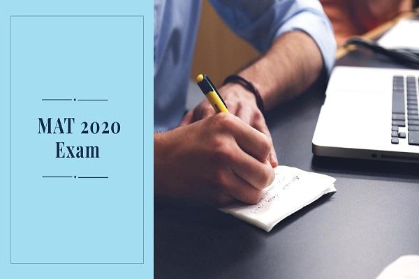 MAT 2020 exam