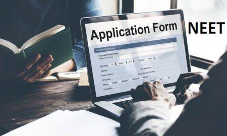 NEET 2020 application form