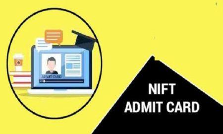 NIFT admit card