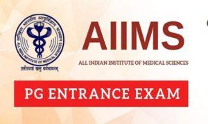 AIIMS PG entrance exams