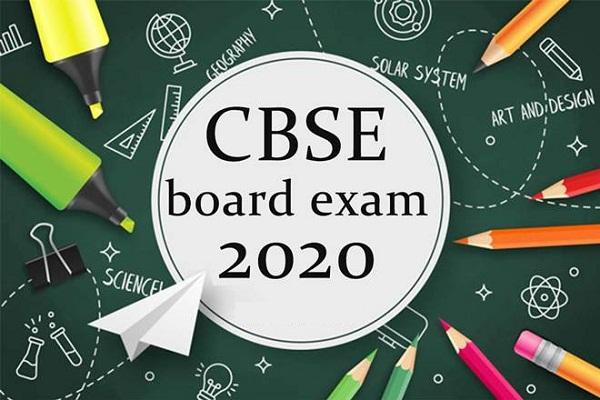 CBSE Board 2020 exams