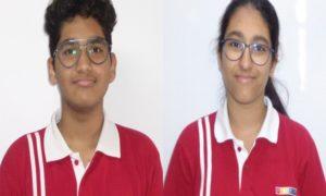Manya Kewalramani and Ishaan Tibdewal