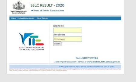 Kerala Board Class 10th Results