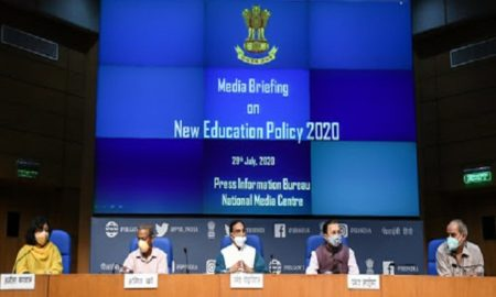 HRD Minister announces New Education Policy