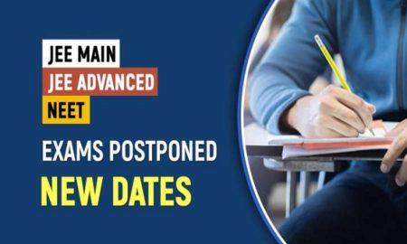 JEE Main, NEET and JEE Advanced exams