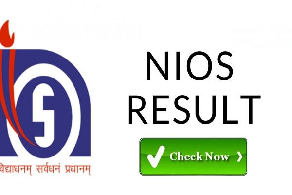 NIOS Class 12th Results