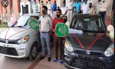 Jharkhand minister gifts cars