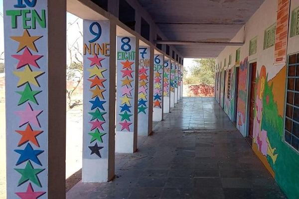 school walls