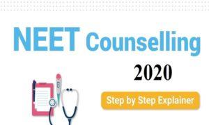 NEET Counselling 2020 starts