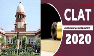 SC refuses CLAT 2020 exams