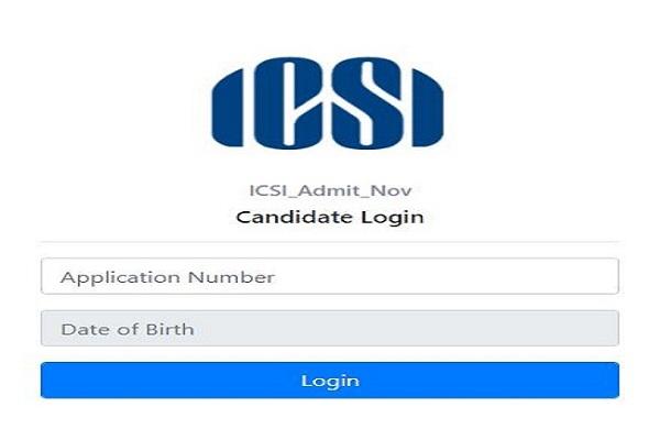 ICSI CSEET admit card