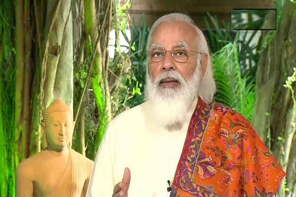PM Modi Buddhist literature